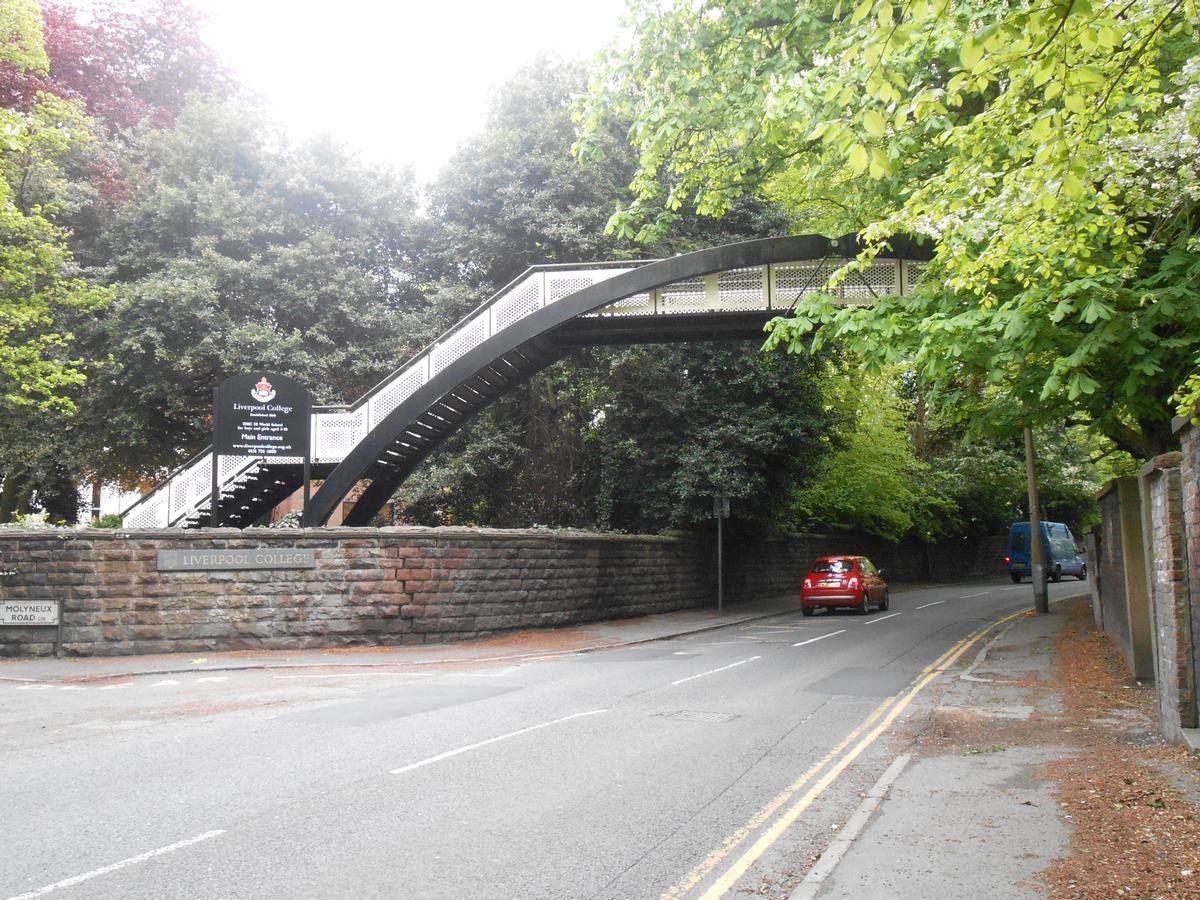 Liverpool College Footbridge