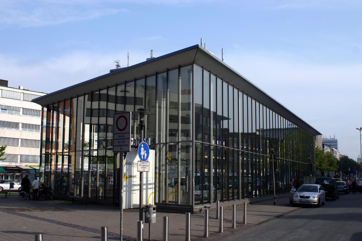 Münster Central Station Bicycle Parking