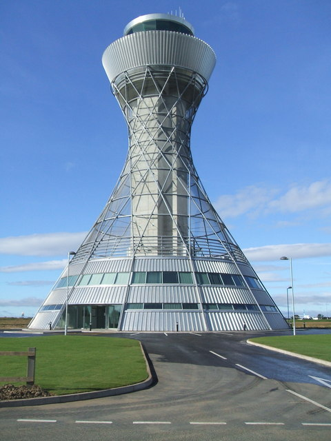 Newcastle Airport Ar Traffic Control Tower
