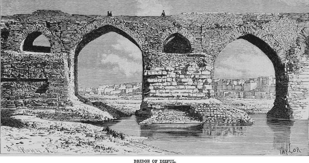 Alte Brücke von Desful