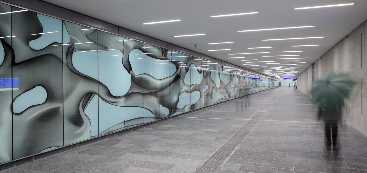 Graz Hauptbahnhof - Personentunnel Nord