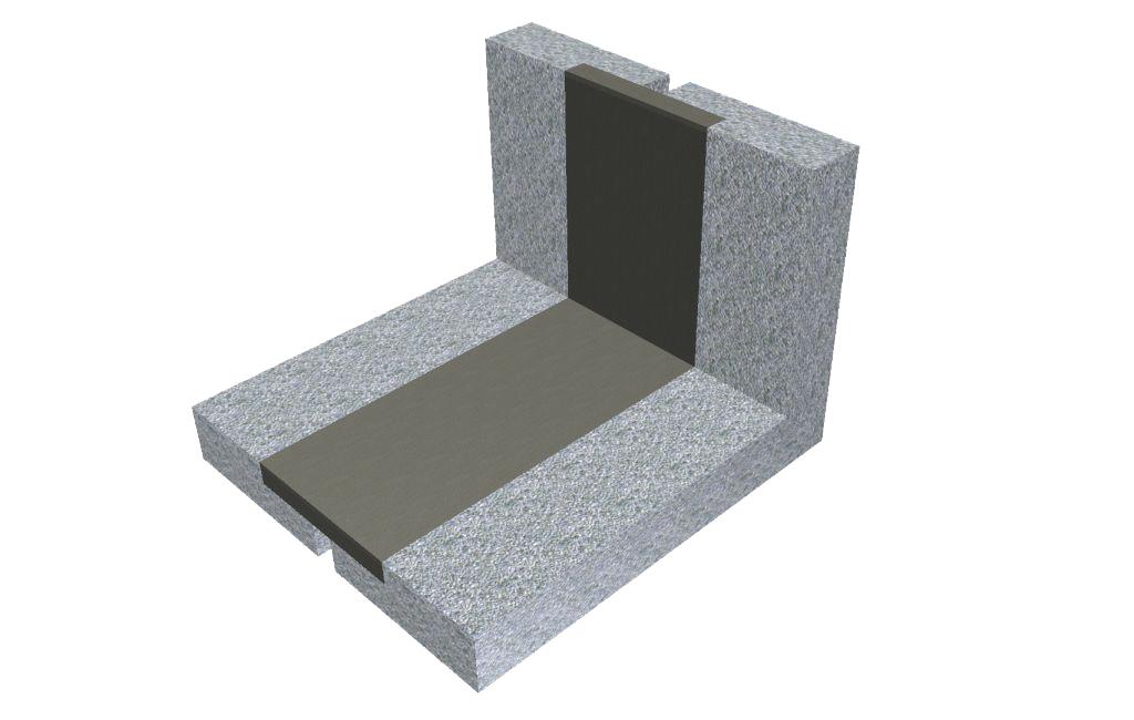 Le matériau POLYFLEX® en PU haute performance permet également de concevoir des joints verticaux, sans limite d'inclinaison ou de largeur. Les joints horizontaux peuvent être raccordés par n'importe quelle forme