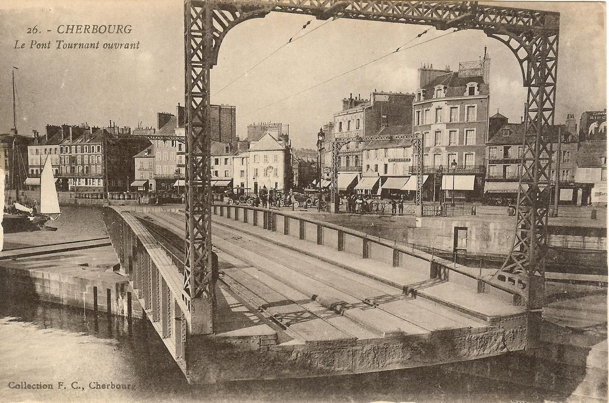 Cherbourg Swing Bridge
