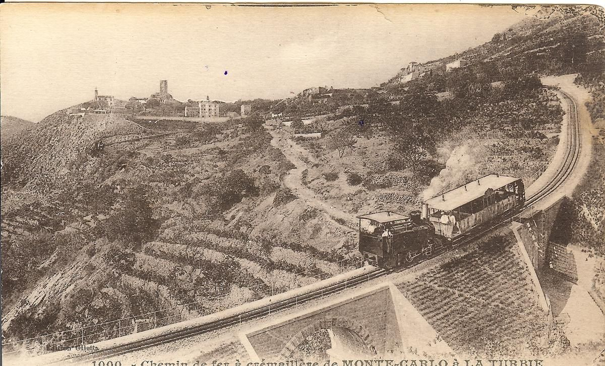 Chemin de fer à crémaillère de Monte-Carlo à La Turbie