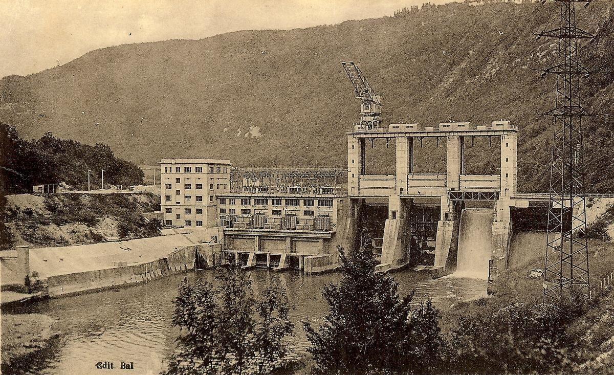 Barrage de Cize Bolozon