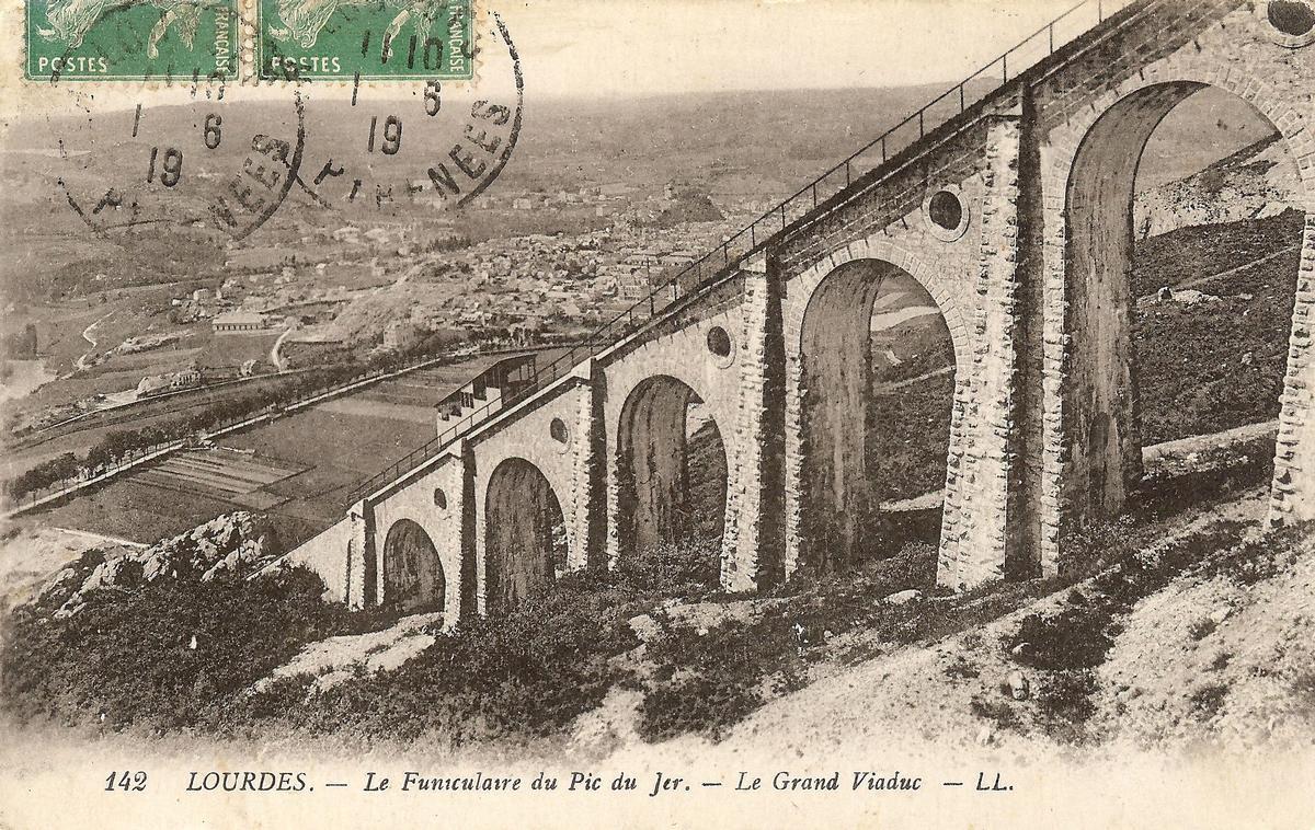 Grand Viaduc du Funiculaire du Pic du Jer