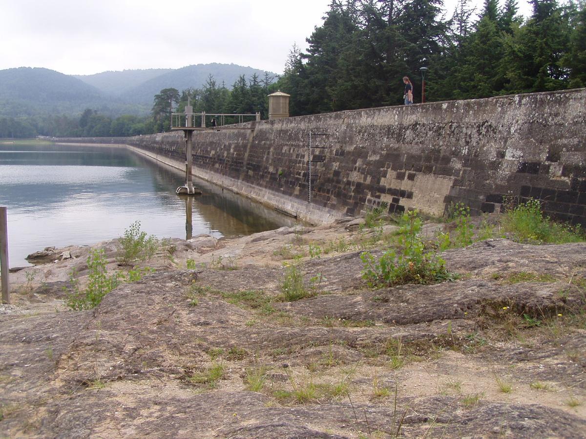Saint-Férréol-Staudamm - Nordseite