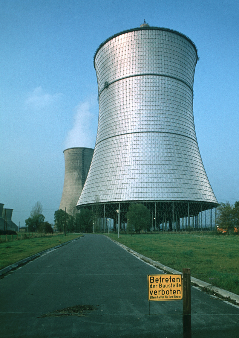 Cooling Tower of the Schmehausen Nuclear Plant