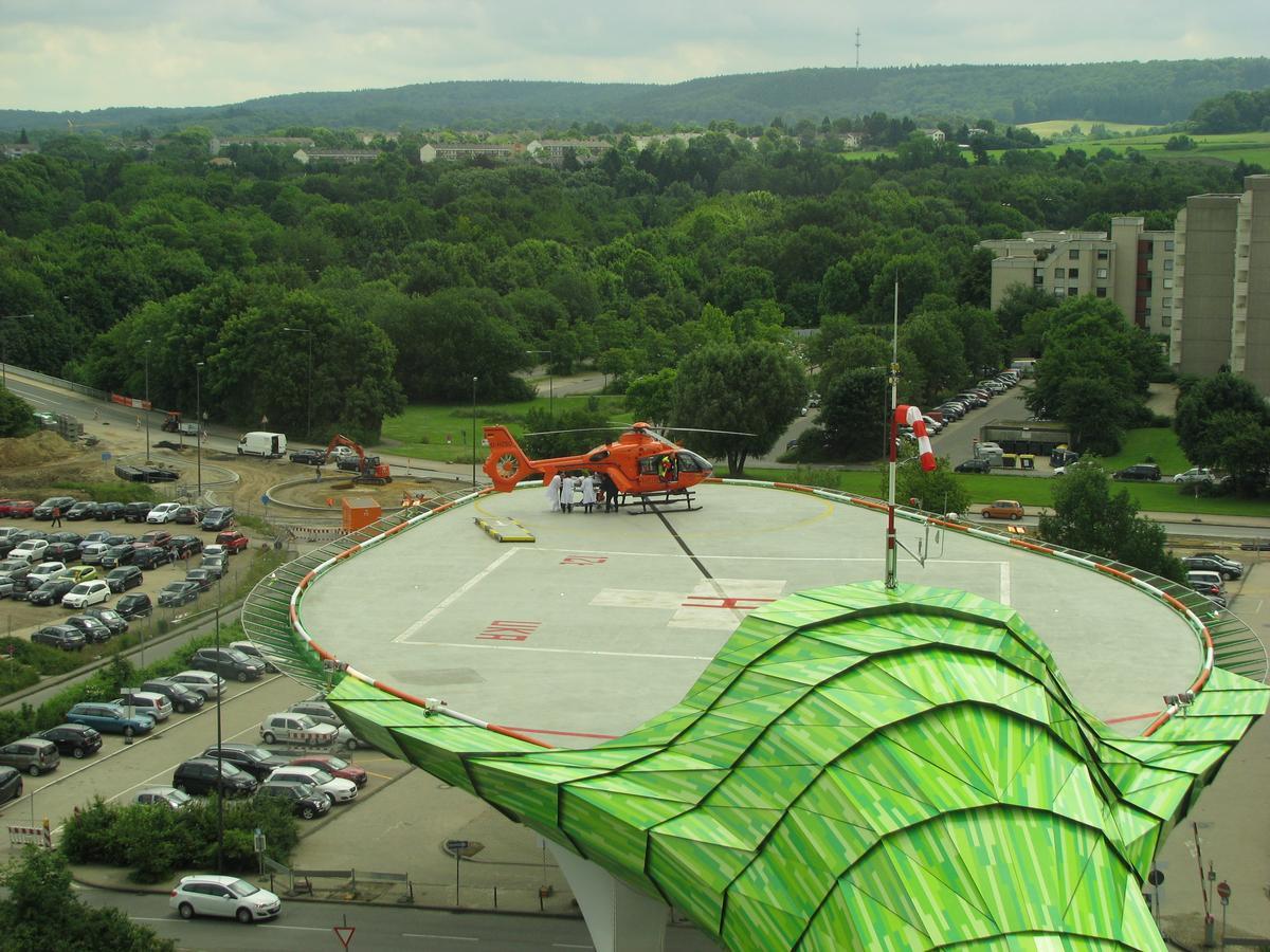 Hubschrauberlandeplattform Universitätsklinikum Aachen