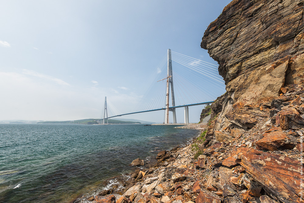 Pont de l'île Roussky