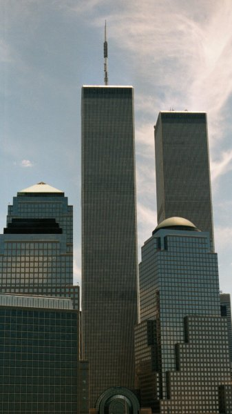 Towers of the World Financial and World Trade Centers