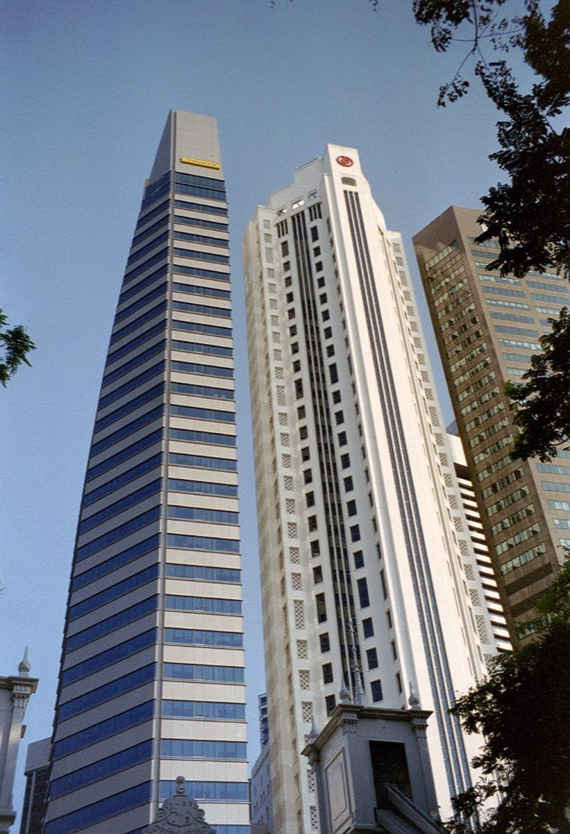 Maybank Tower & New Bank of China Building, Singapore.
