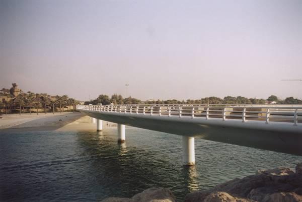 Brücke zum Burj Al Arab