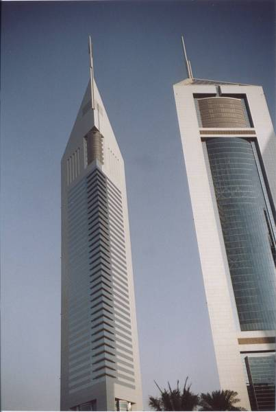 Emirates Towers, Dubai.