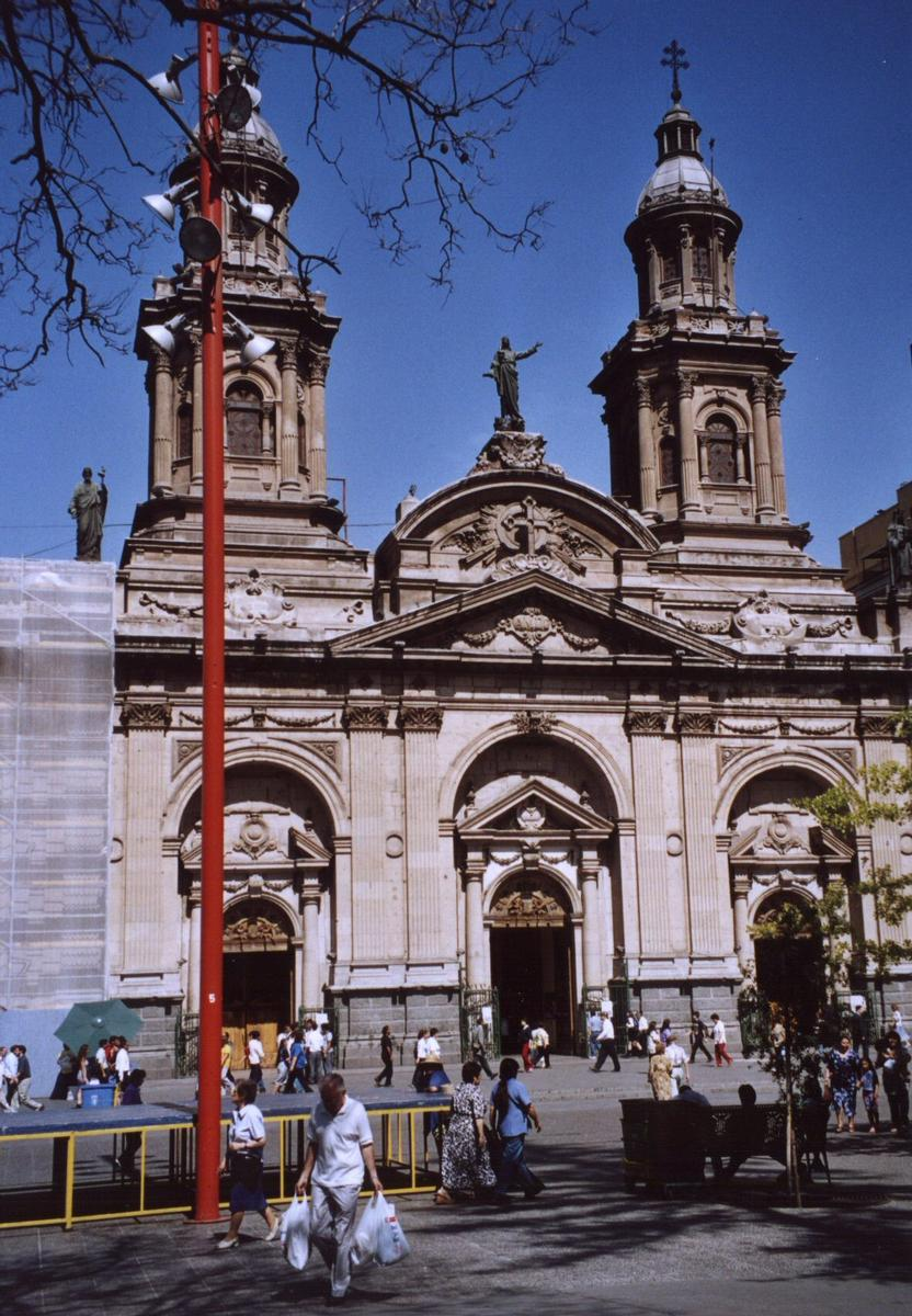 Cathedral, Santiago de Chile.