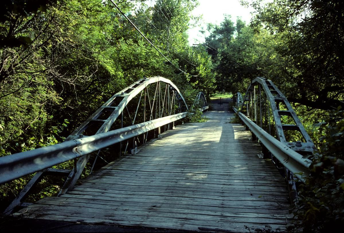 Shaw Bridge, Claverack, Columbia Co, New York, USA