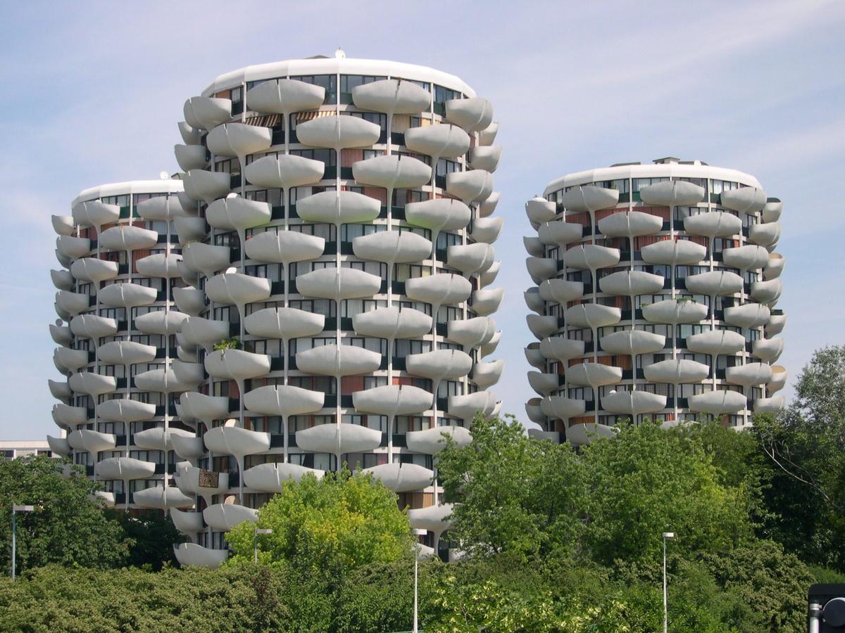 Cité des «Choux», Créteil.