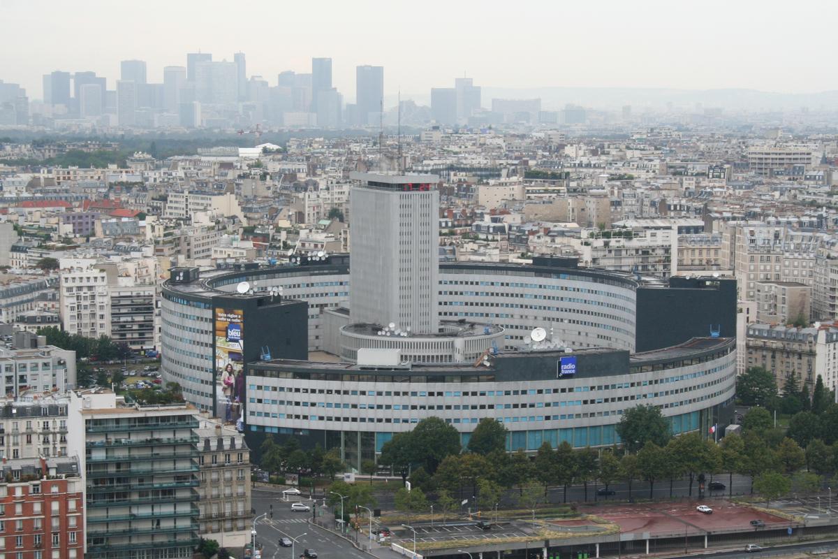 Maison de la Radio (Paris (16.), 1963)   Structurae