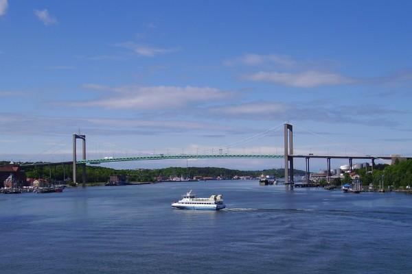 Suspension brigde in Göteborg