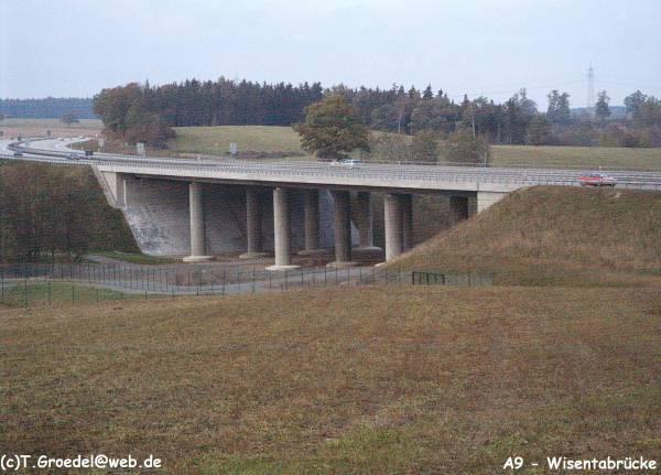 Autobahn A9Wisentabrücke, Schleiz