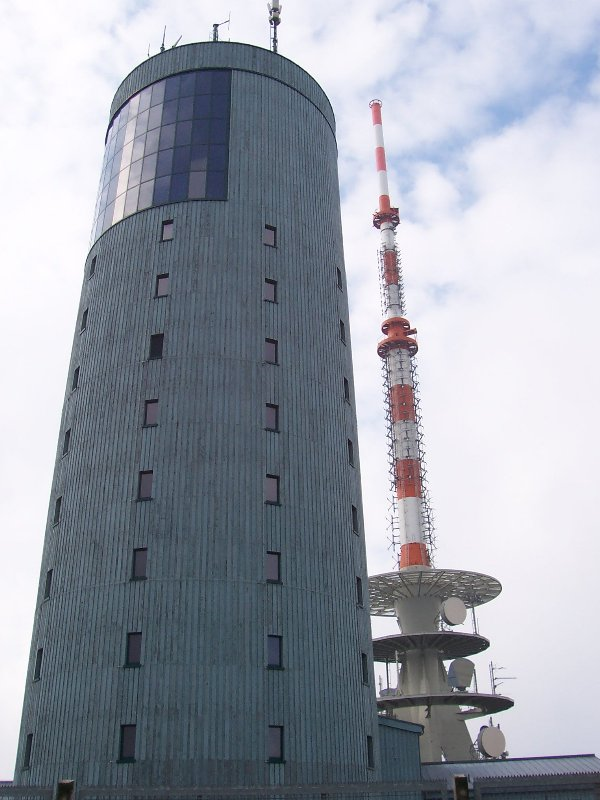 VHF Tower on the Great Inselsberg.