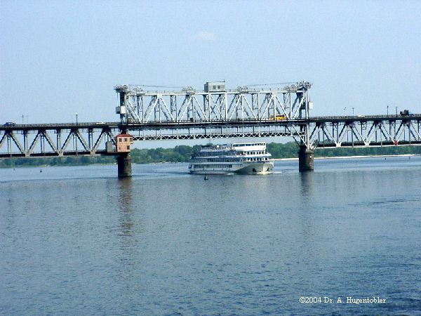 Kremenchuk Bridge across the Dnepr