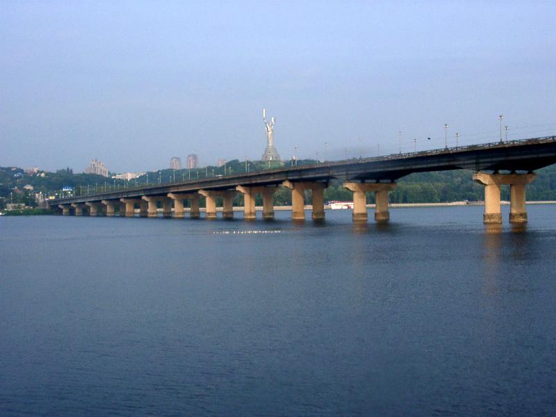 Paton Bridge, Kiev.