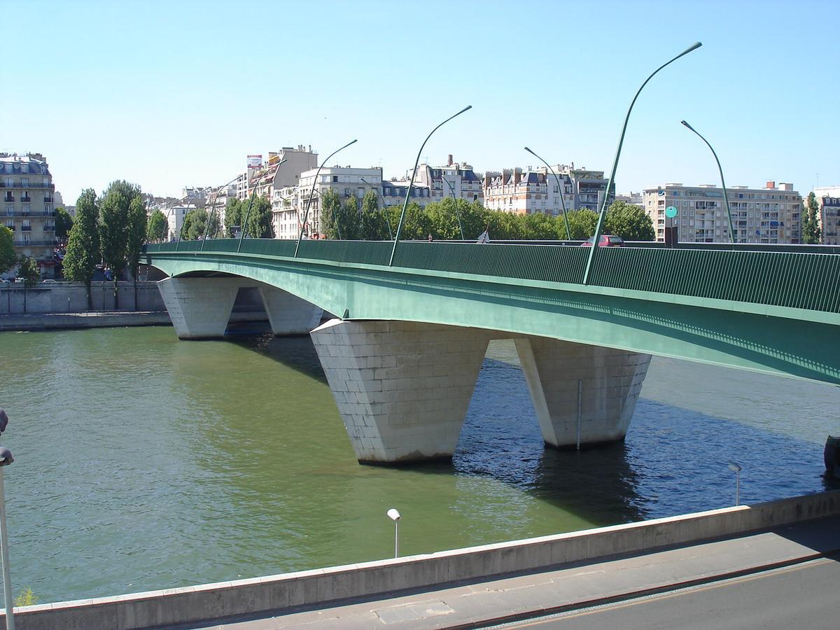 Pont du Garigliano.Paris 15e et 16e.