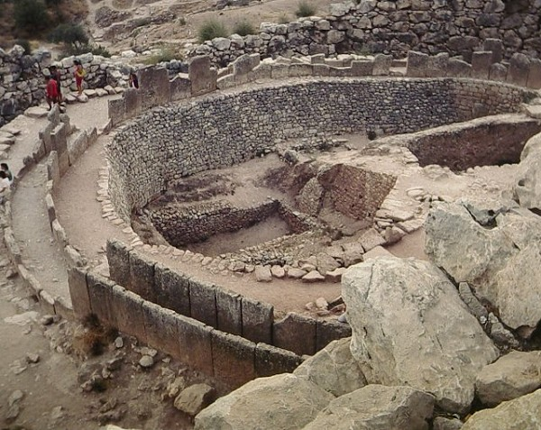 Acropolis of MycenaeGrave circle A