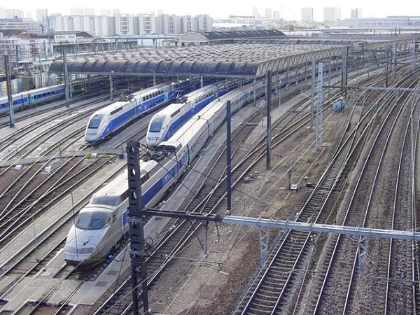 Charenton TGV depot.