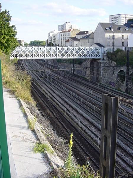 Tranchée de Charenton. Pont des Bordeaux