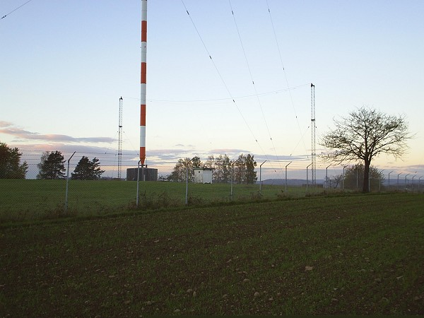 Short Wave Transmittor at Mühlacker, Germany.