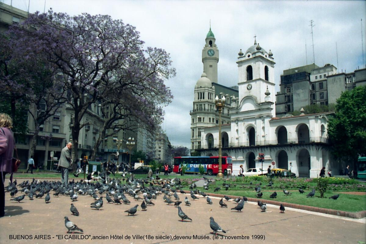 El Cabildo, Buenos Aires.