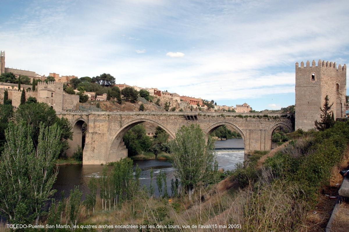 Puente San Martin, Toledo.