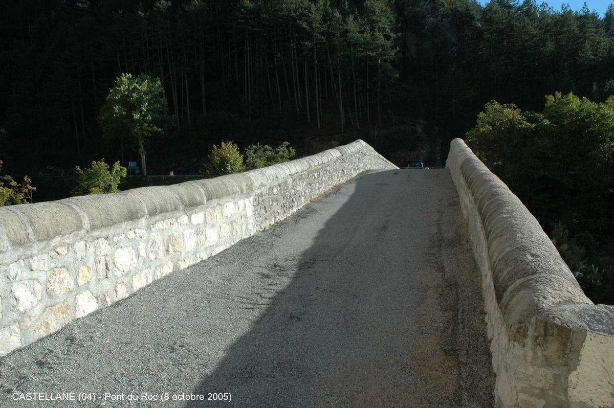 Pont du Roc, Castellane