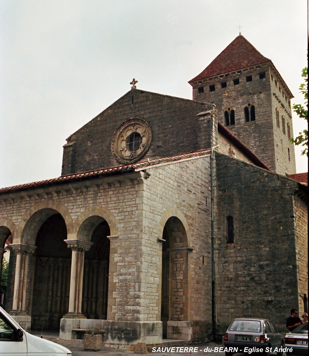 Saint-André Church, Sauveterre-de-Béarn.