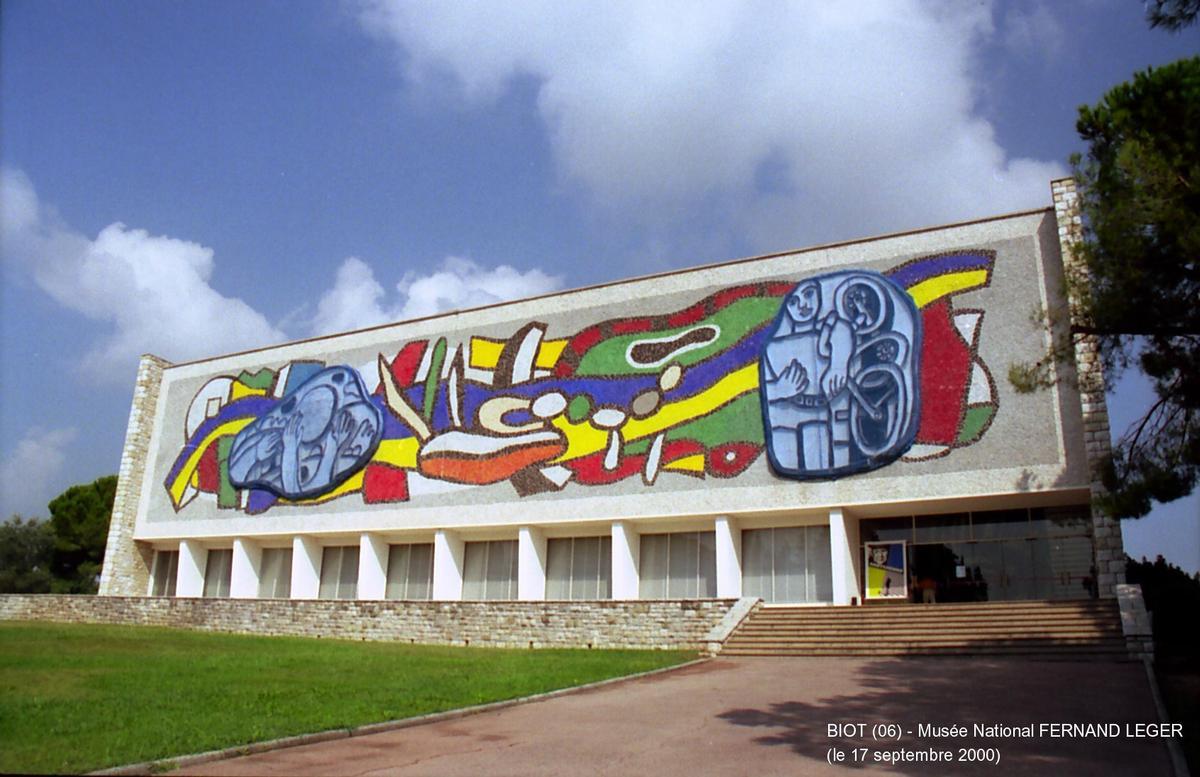 Musée National Fernand Léger, Biot, Frankreich