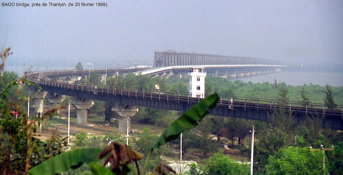 Yangon-Thanlyin-Brücke