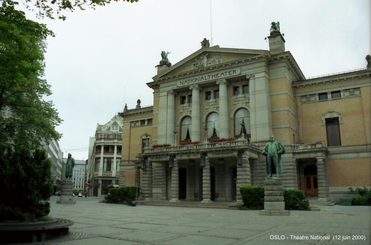 National Theater, Oslo.