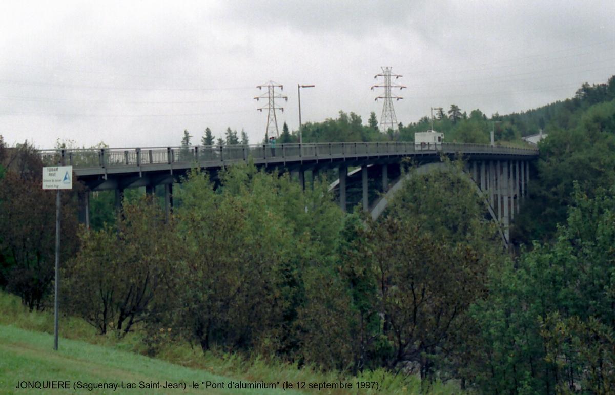 Arvida Bridge, Québec.