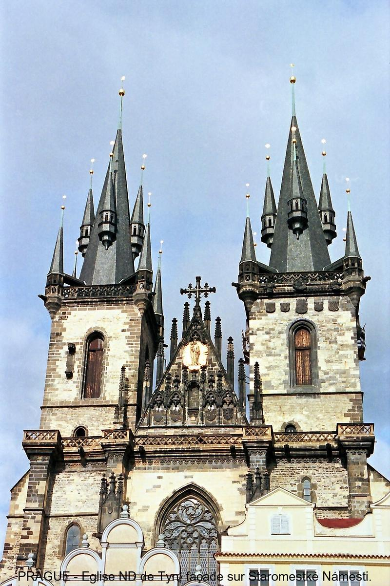 Kostel Panny Marie pred Týnem, Prague.