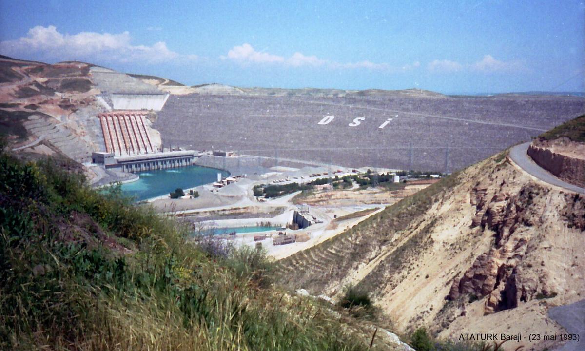 Atatürk Dam.