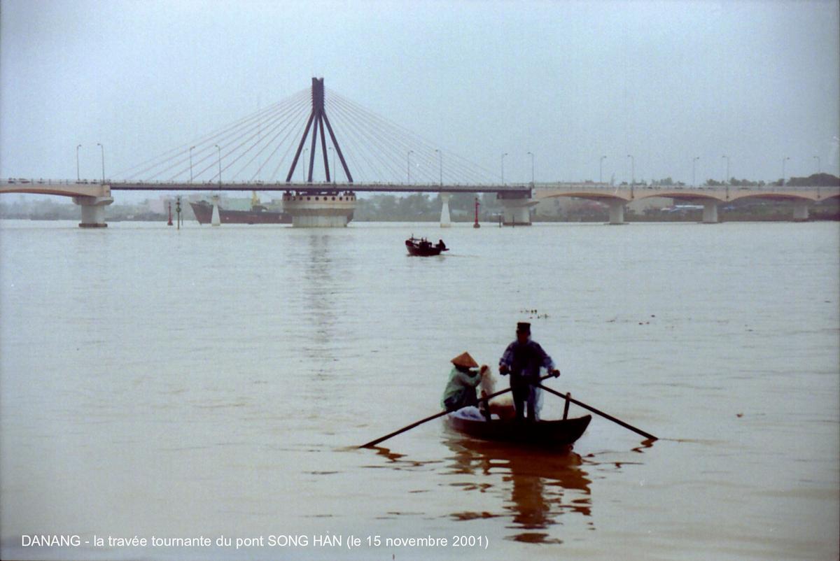 Danang Bridge over the Han River in Vietnam.