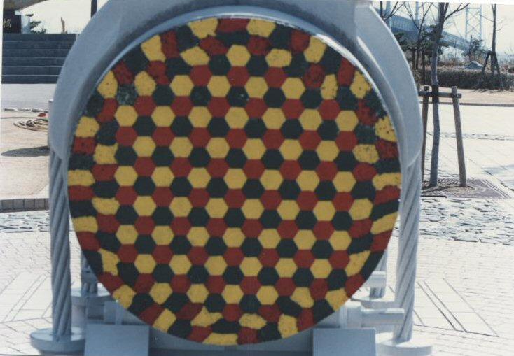 Ponts de Seto Ohashi. Câbles