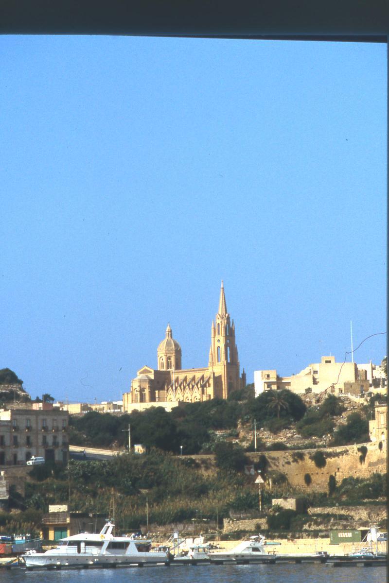 Church of Our Lady of Loreto, Ghajnsielem, Malta.