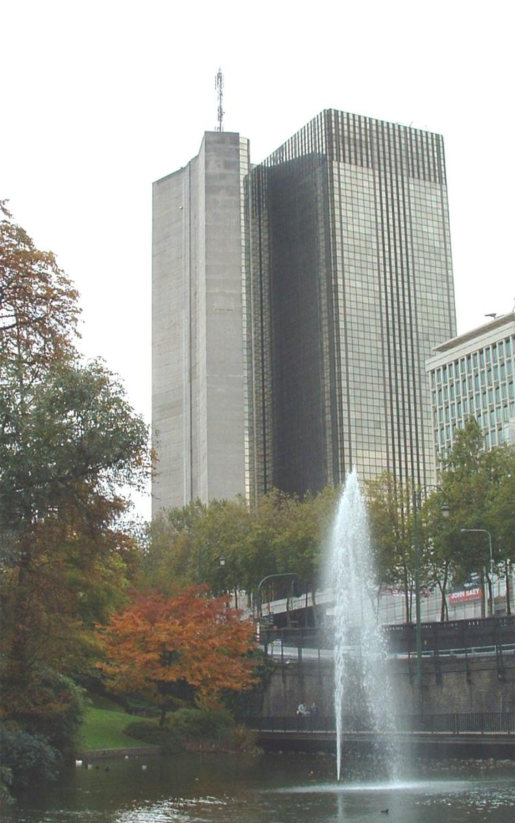 Tour des Finances, Brussels.