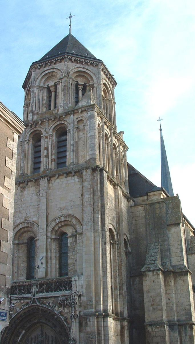 Sainte-Radegonde Church, Poitiers.