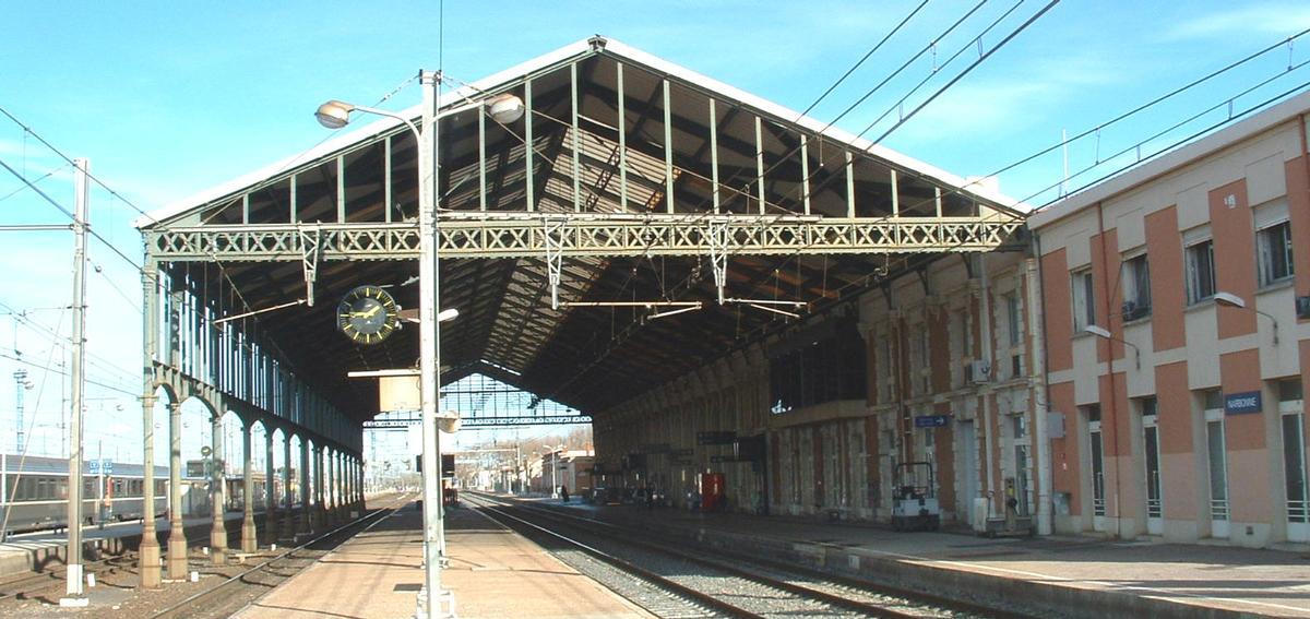 Gare de Narbonne (Aude - 11 - Languedoc-Roussillon - France)