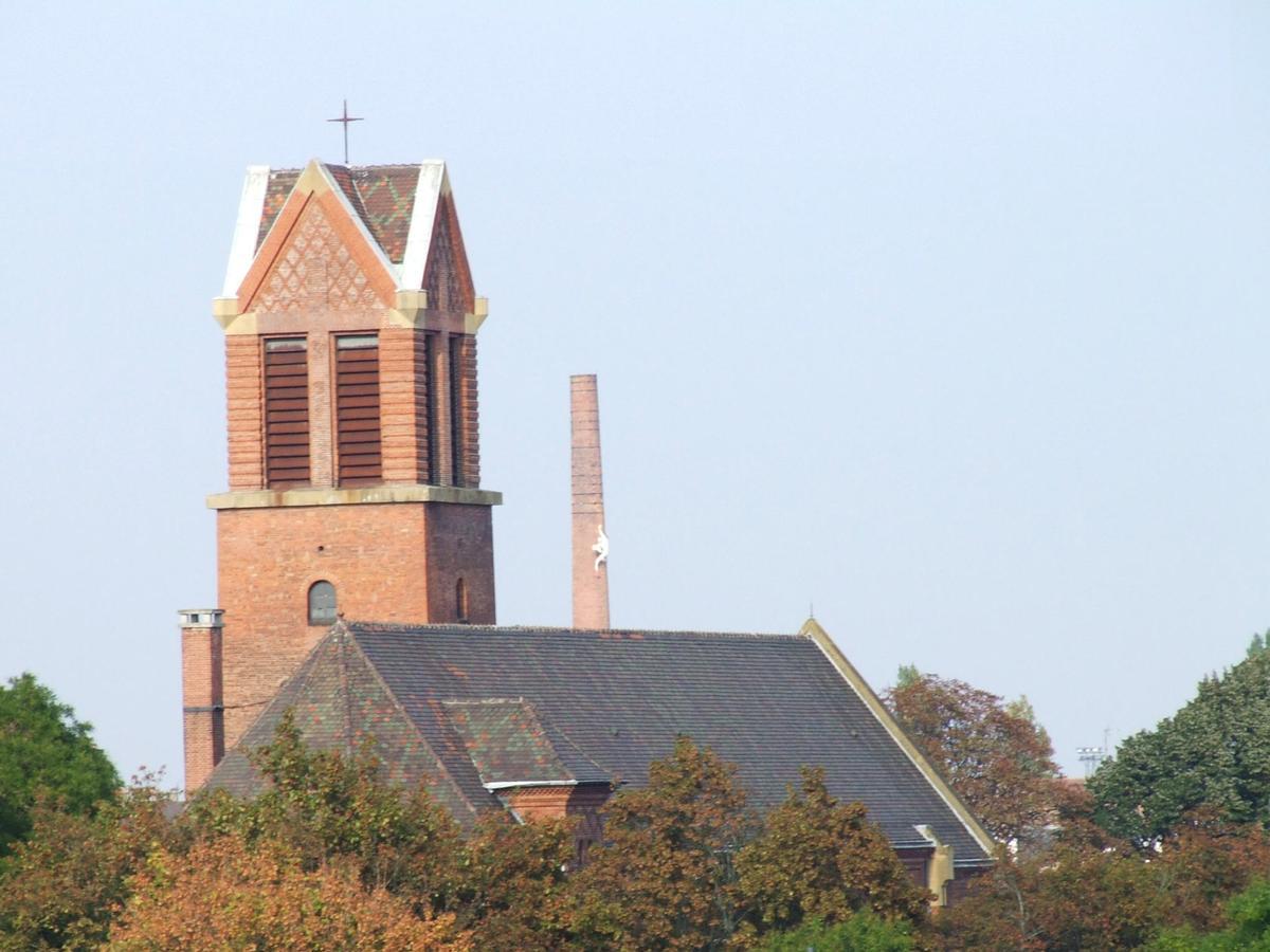 Eglise sainte th r se mulhouse structurae - Eglise sainte therese guilherand granges ...