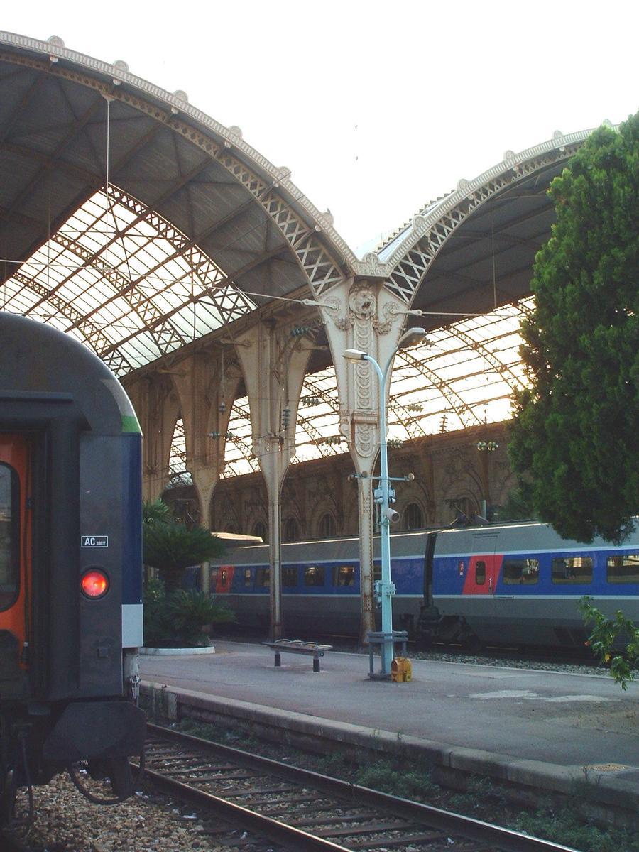 Bahnhof in Nice